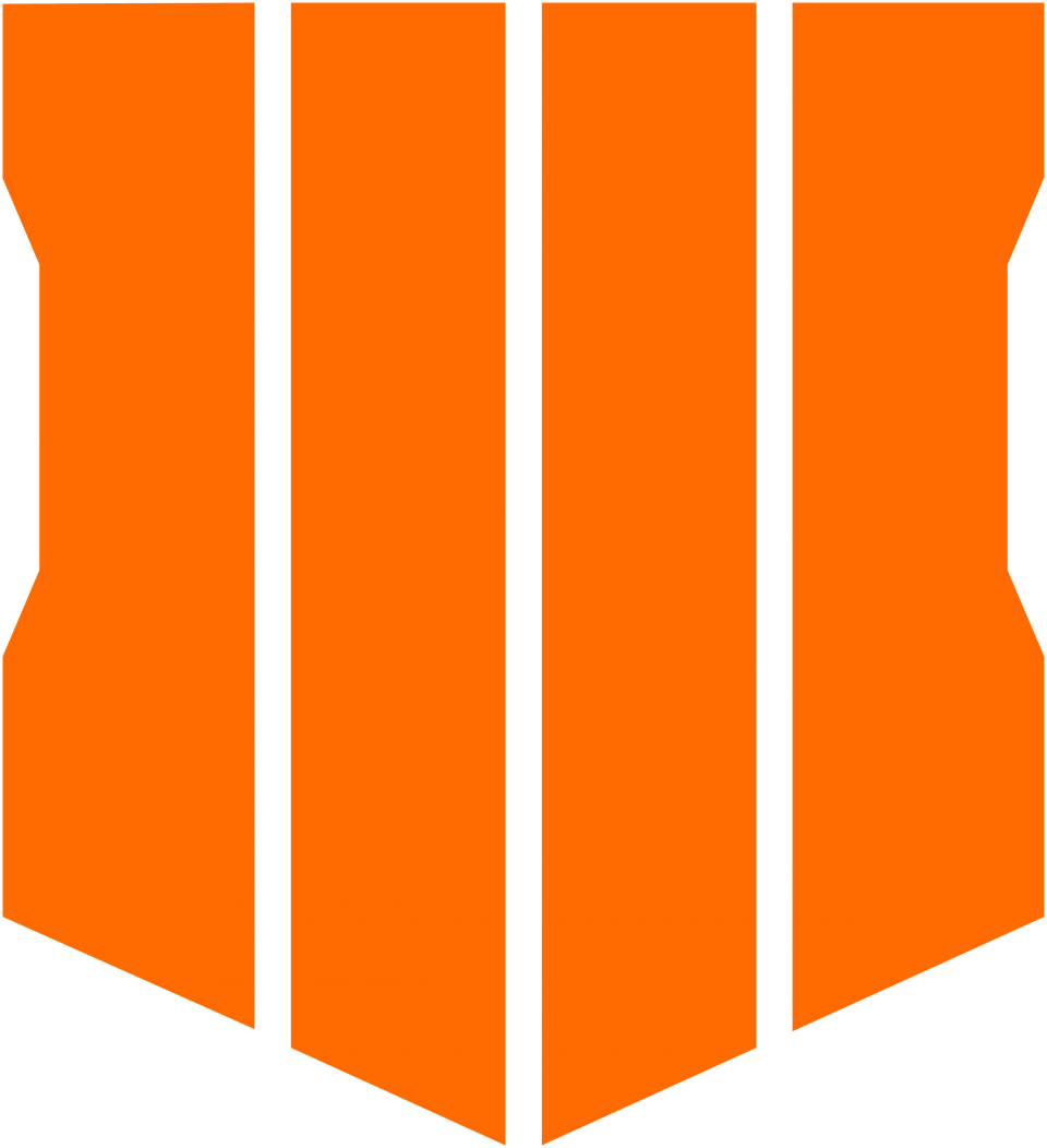 Call of Duty: Black Ops 4 Logo PNG Image.