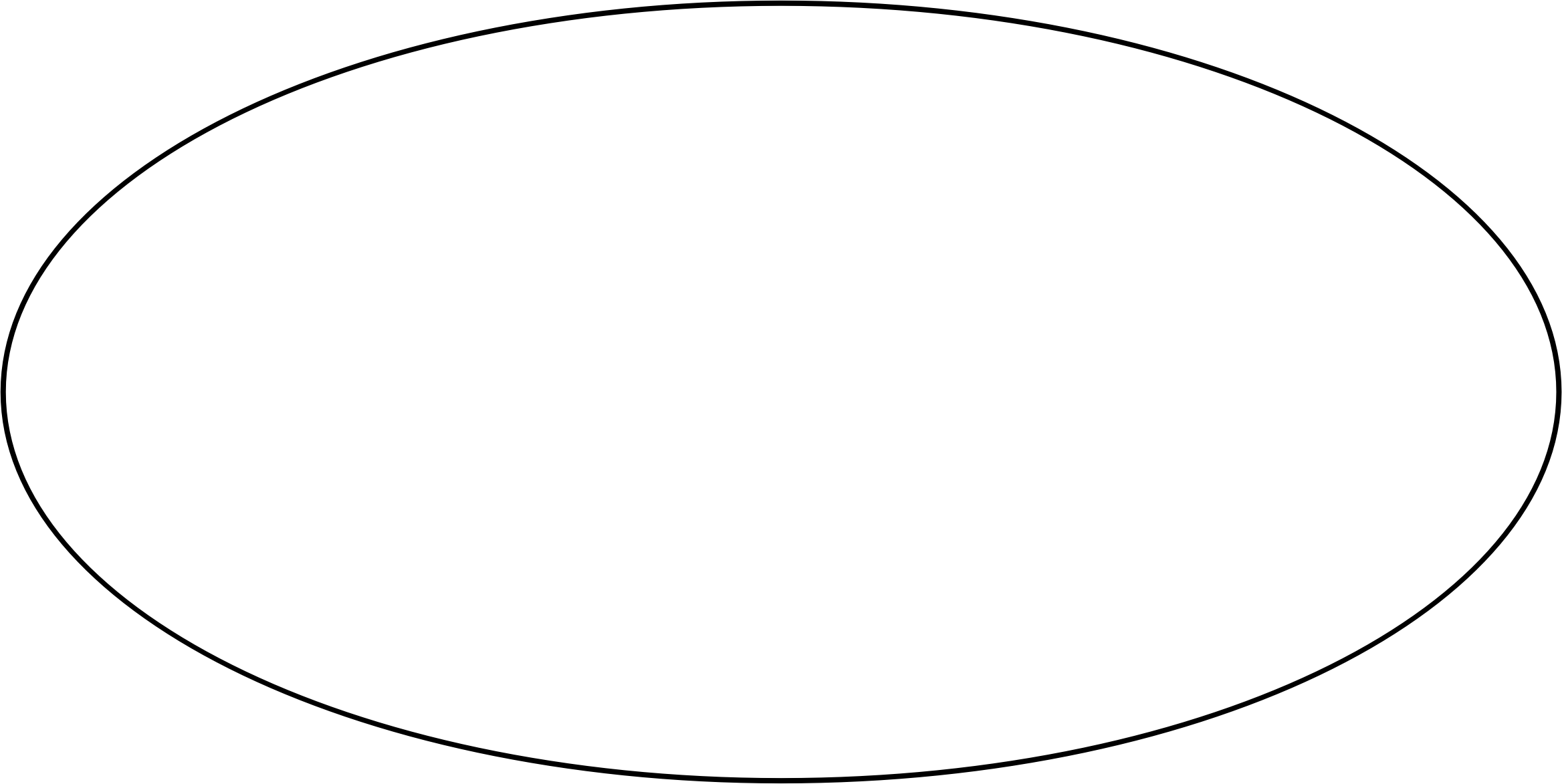 Oval clipart black and white, Oval black and white.