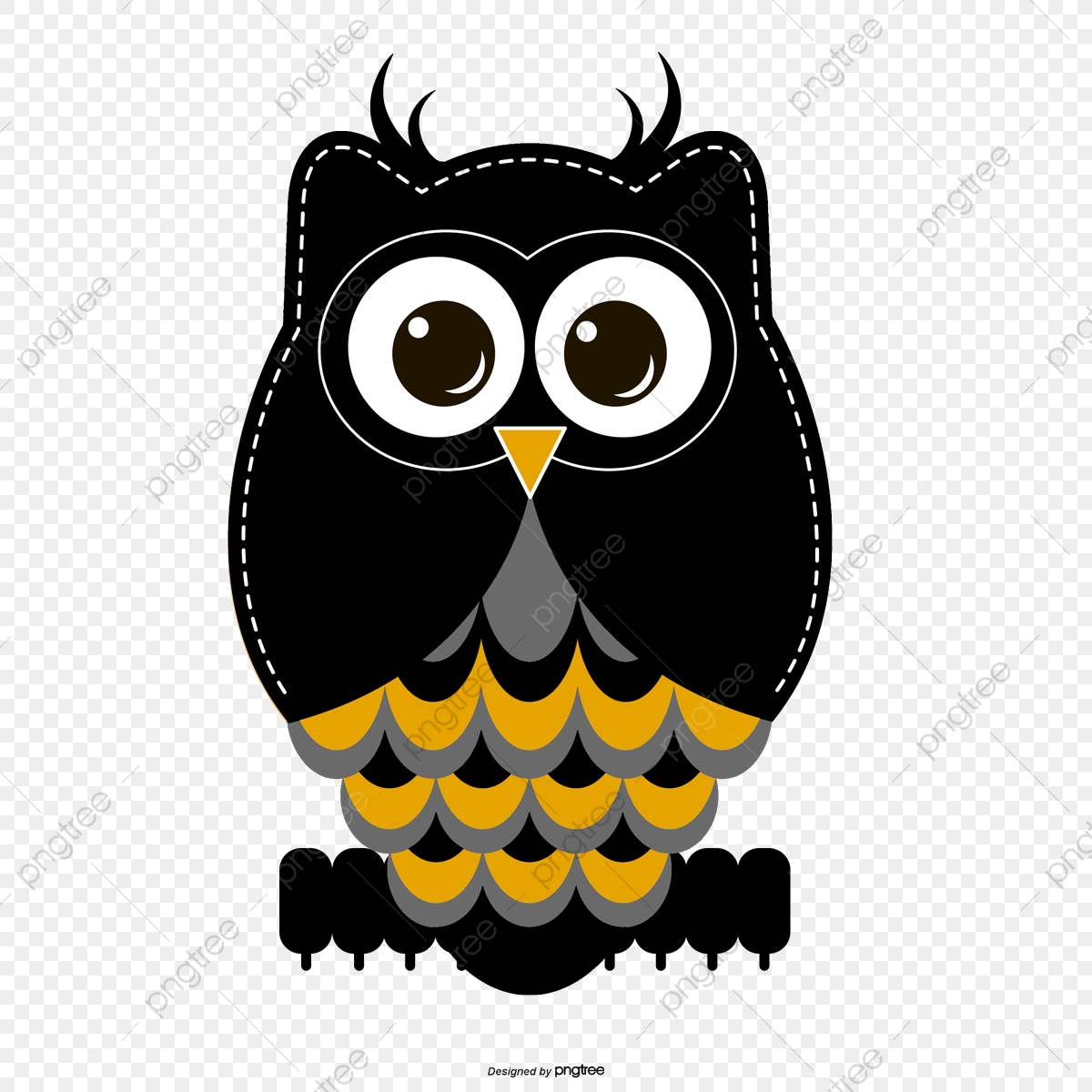 Big Black Eye Owl, Owl Clipart, Black, Big Eyes PNG and.