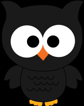 Black Owl Clipart.
