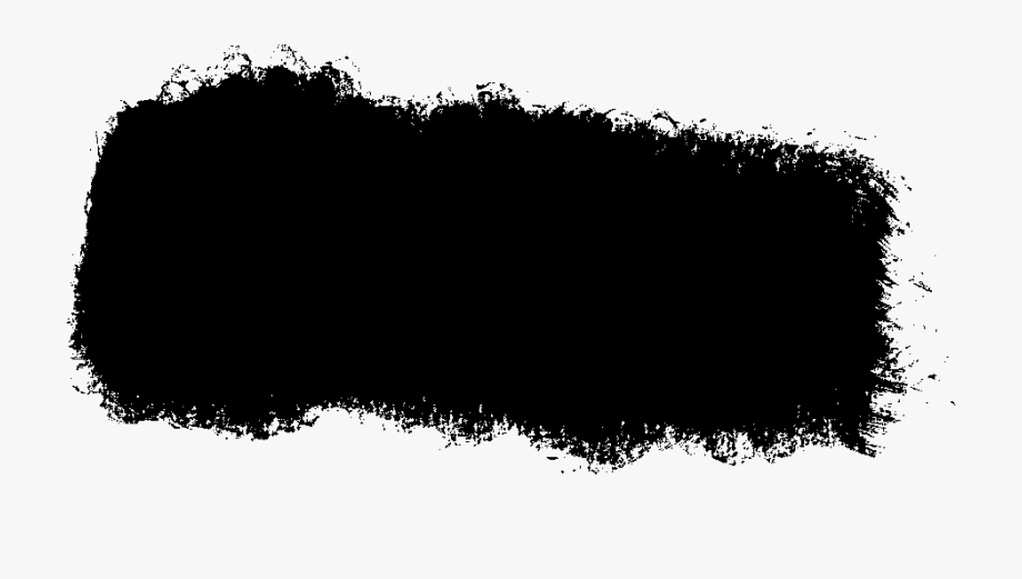 Black Paint Brush Strokes Png.