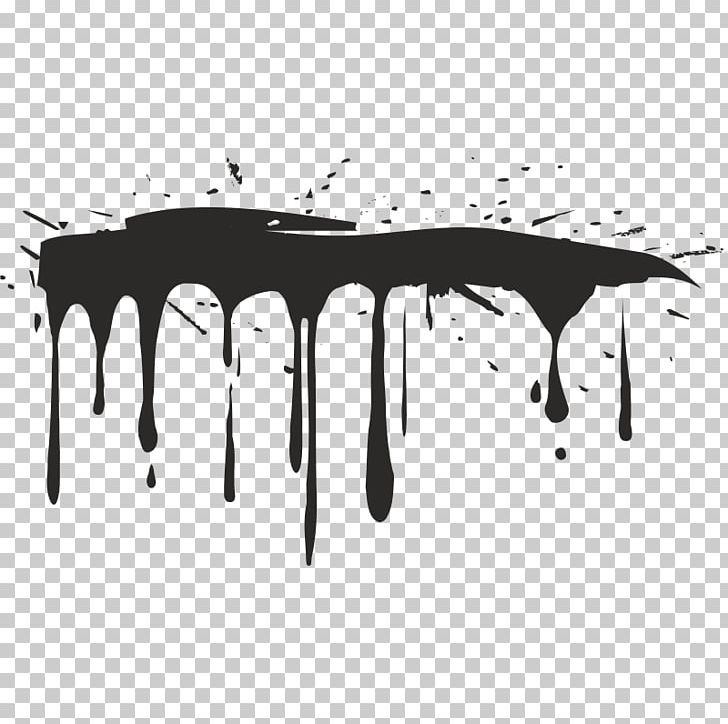 Drip Painting PNG, Clipart, Aerosol Paint, Angle, Black.