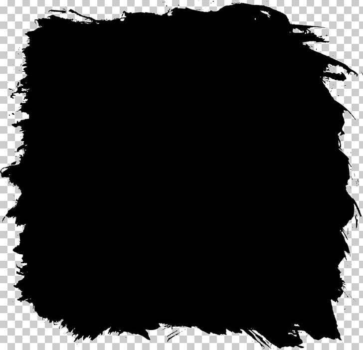 Black And White Square Paint PNG, Clipart, Art, Black, Black And.