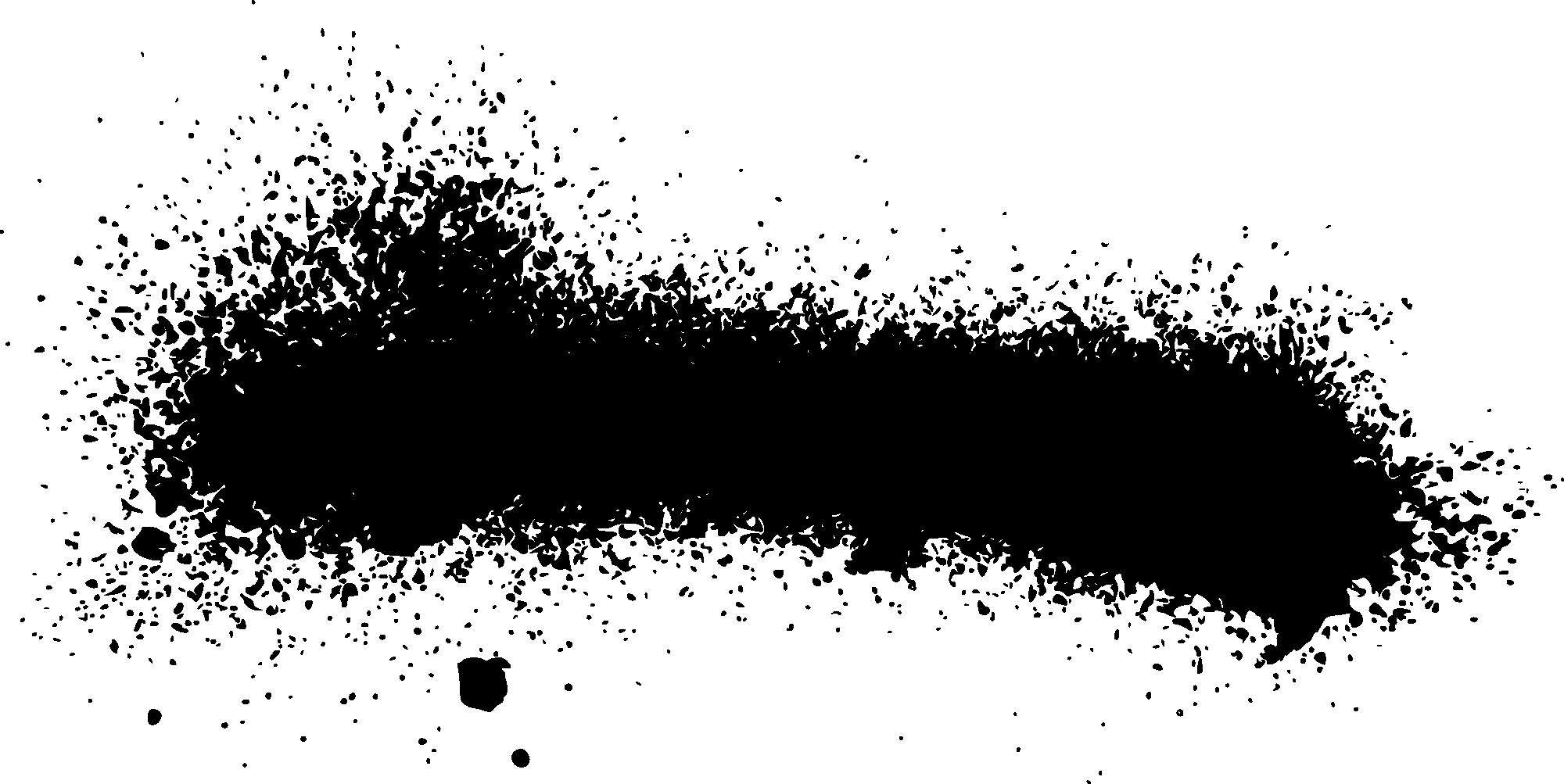 26 Grunge Spray Paint Stroke Banner (PNG Transparent, SVG).