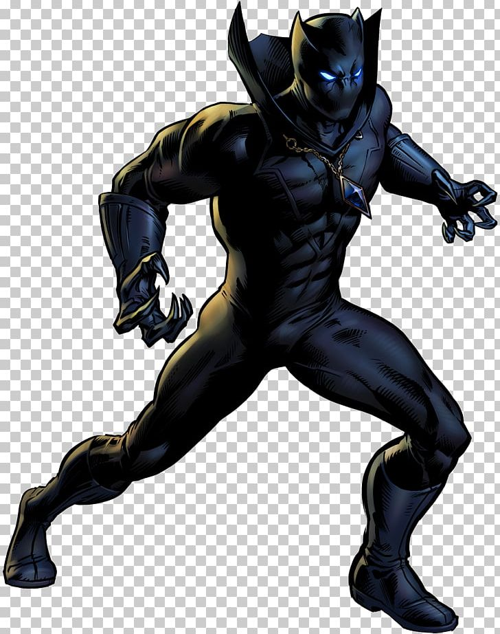 Black Panther Superhero Comic Book Marvel Comics PNG, Clipart.