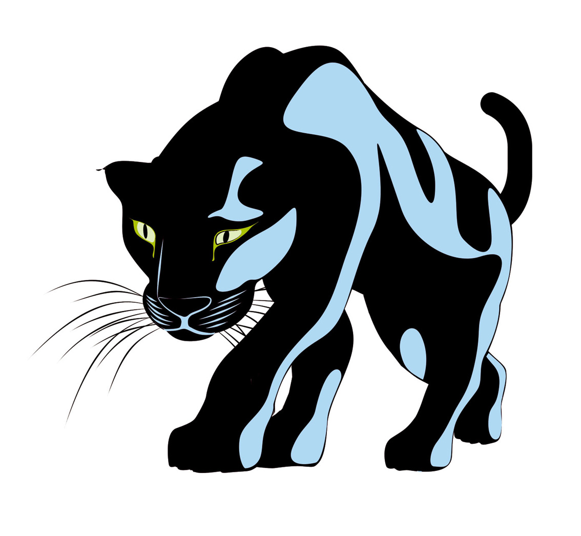 Black Panther Clipart.