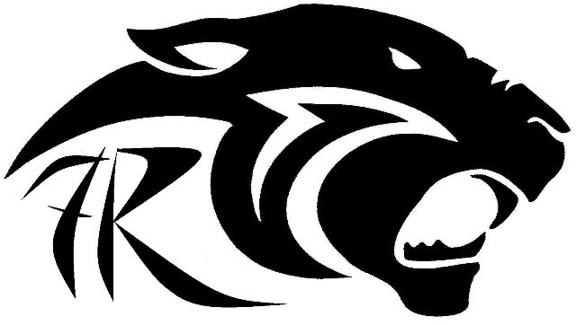 Black panther clip art free vector image 1.