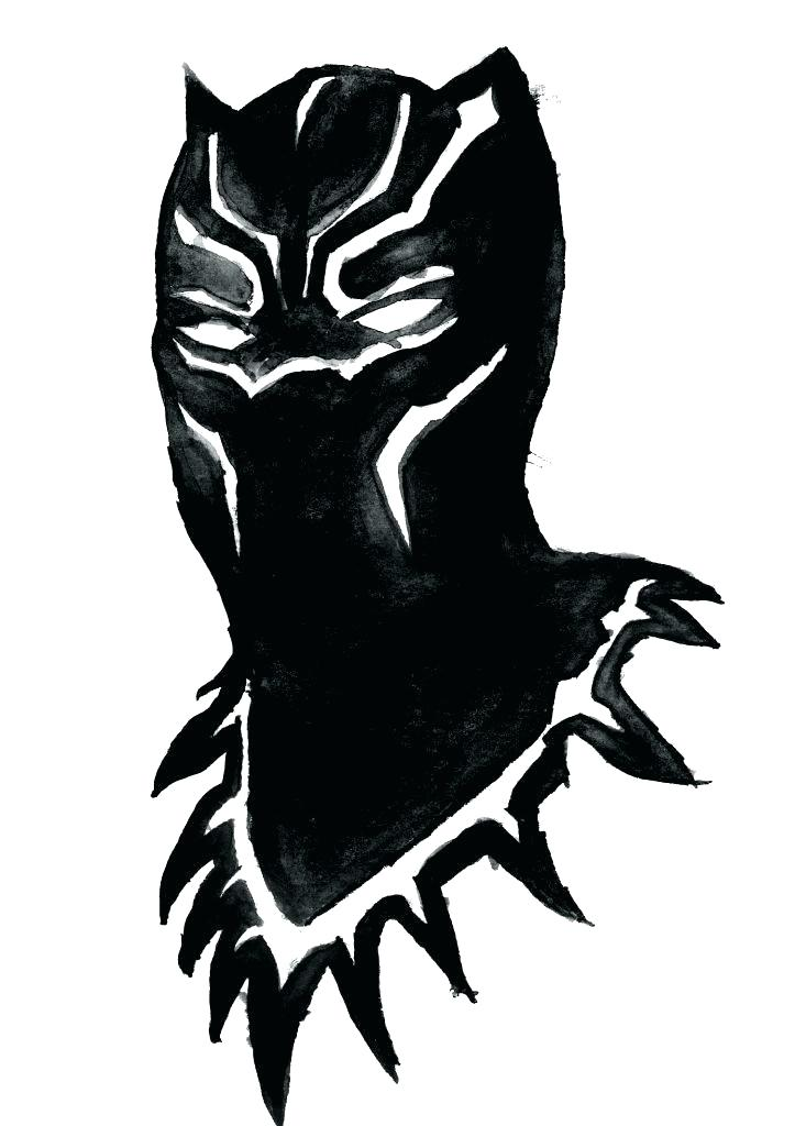 Collection of Black panther clipart.