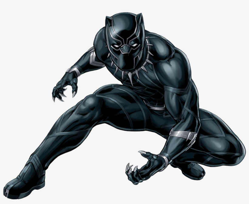 Xmen Drawing Black Panther Clipart Transparent Download.