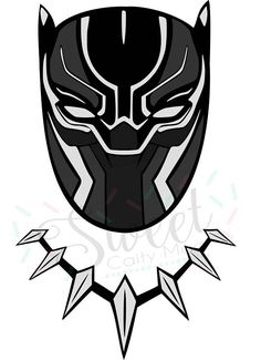 Marvel black panther clipart 1 » Clipart Station.
