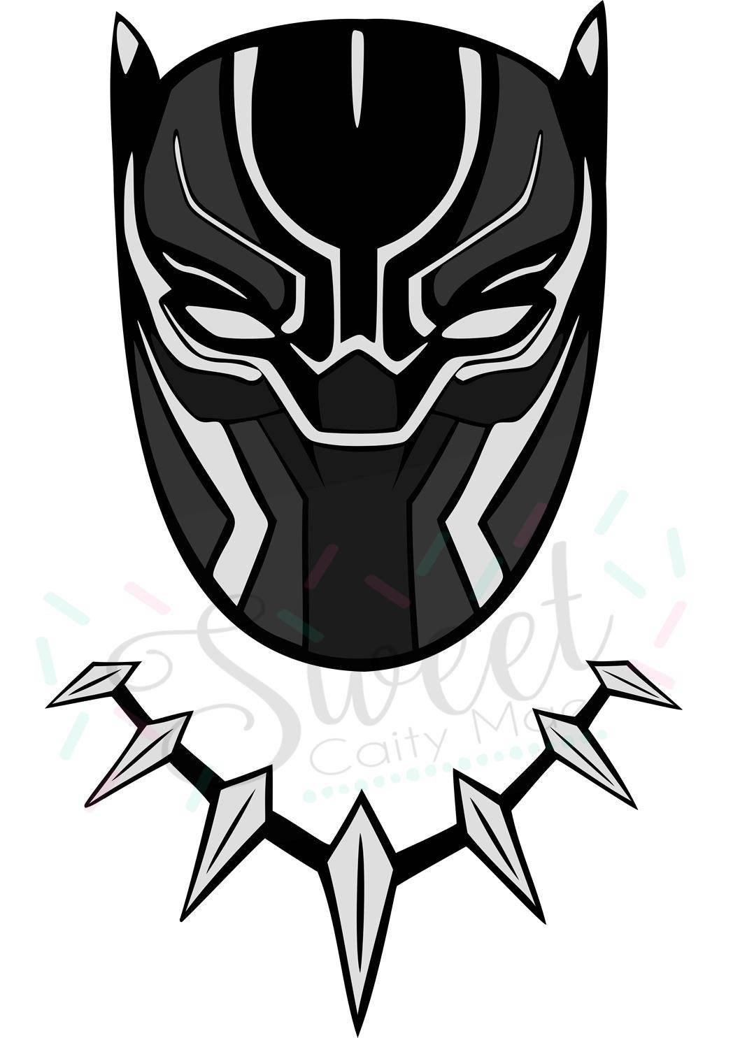 Black panther marvel vector Inspirational black panther clipart.