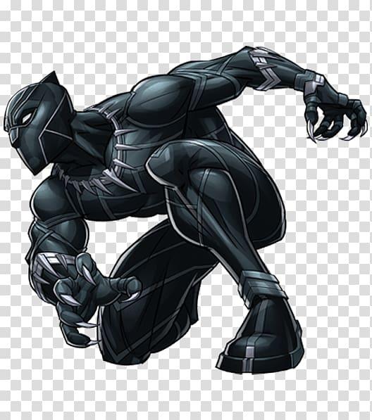 Black Panther illustration, Black panther Clint Barton Hulk Marvel.
