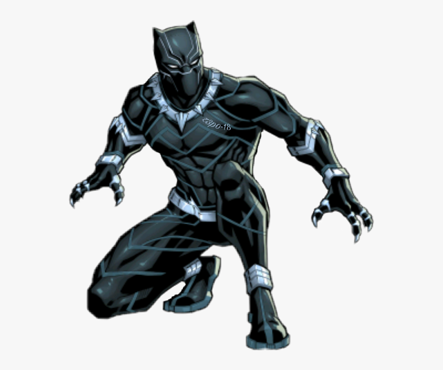 Transparent Marvel Black Panther Png.