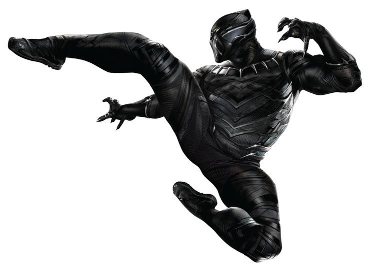 698 Black Panther free clipart.