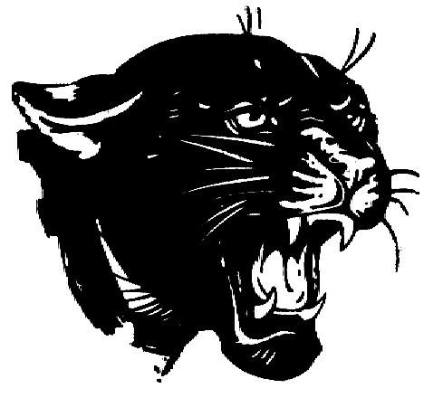 Panther Head Clip Art.
