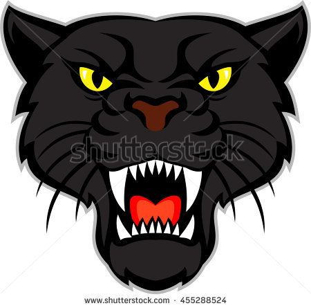 Panther Head Stock Images, Royalty.
