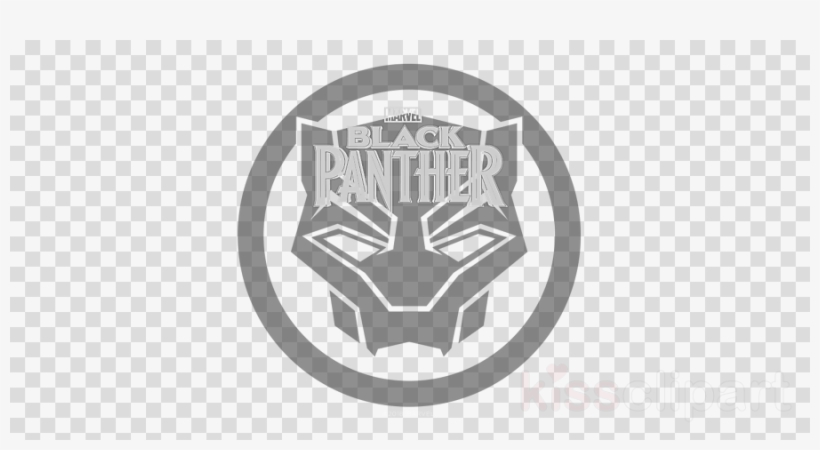 Black Panther Logo Clipart Black Panther Logo Decal.
