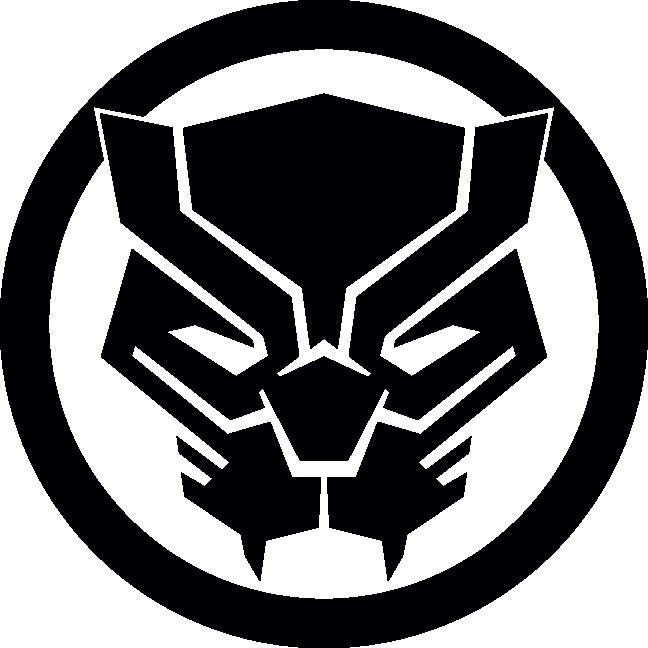 HD Marvel Black Panther Logo , Free Unlimited Download #2830642.
