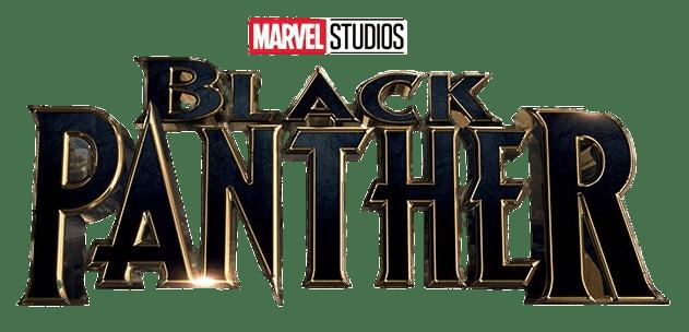 Black Panther Logo transparent PNG.