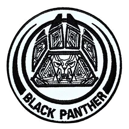 Amazon.com: Marvel Hero Logo Black Panther IronOn Patch.
