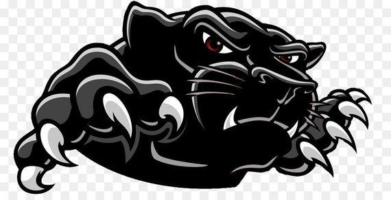 Panther SVG File, Mascot, Football, Baseball, Basketball.