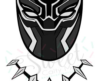 Black panther mask clipart » Clipart Station.