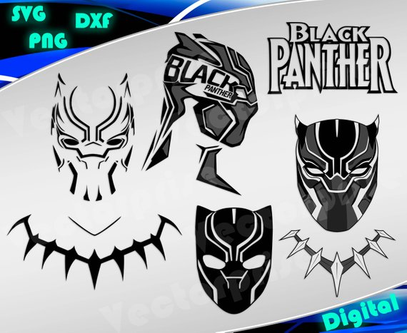 Black panther mask clipart 3 » Clipart Station.