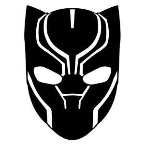 Black panther mask clipart 2 » Clipart Station.
