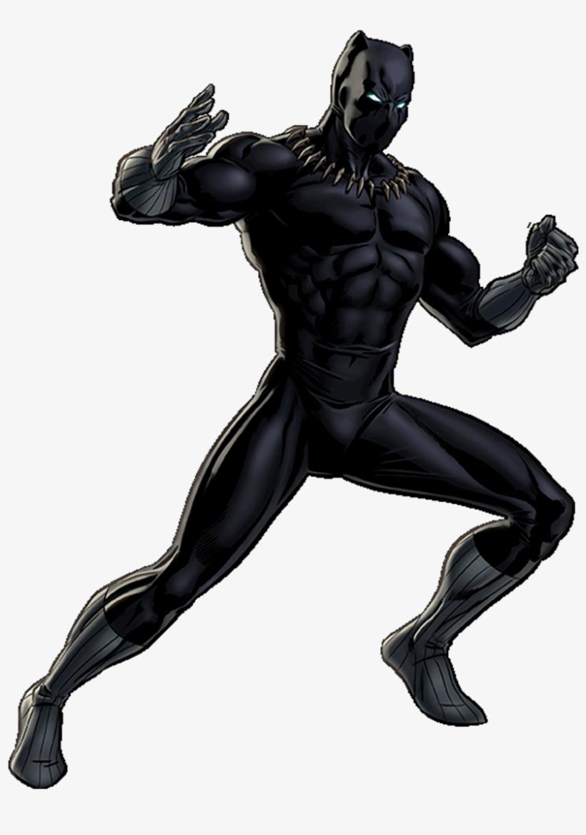 Black Panther Portrait Art.