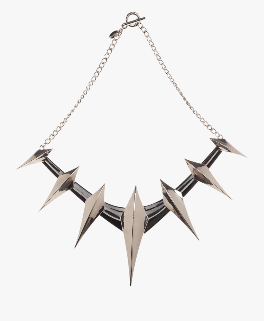 Black Panther Necklace Png.