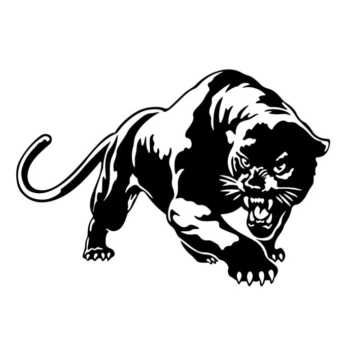 Puma Cougar Panther SVG, DXF, EPS, Png, Cdr, Ai, Pdf Vector Art.
