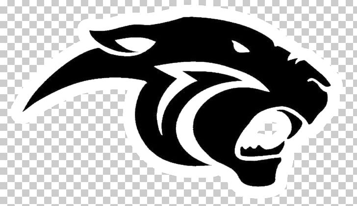 Thonon Black Panthers Logo PNG, Clipart, Black And White.