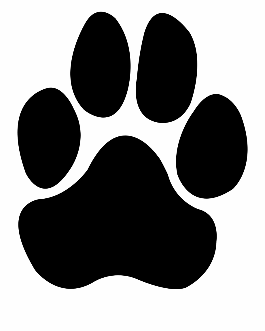 Bulldog Paw Print Png.