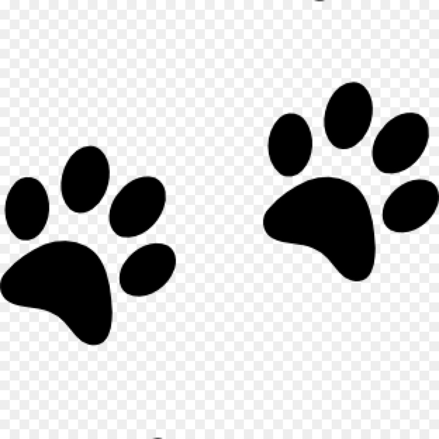 Dog Paw Cat Printing Clip art.