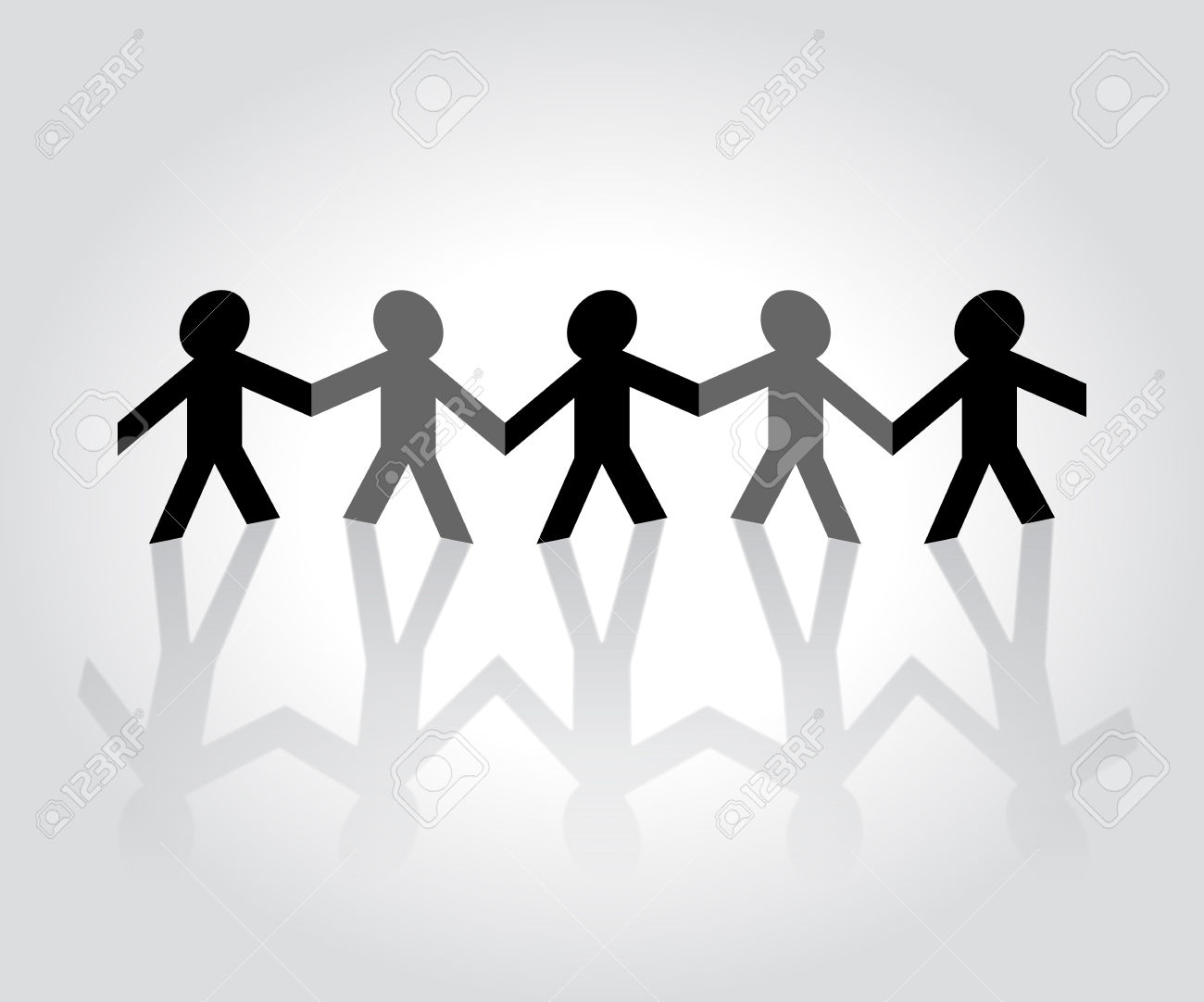 Black People Holding Hand Clipart.