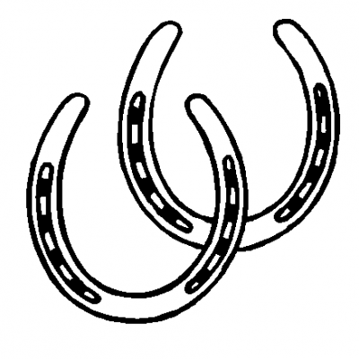 Horseshoe Clip Art #39512.