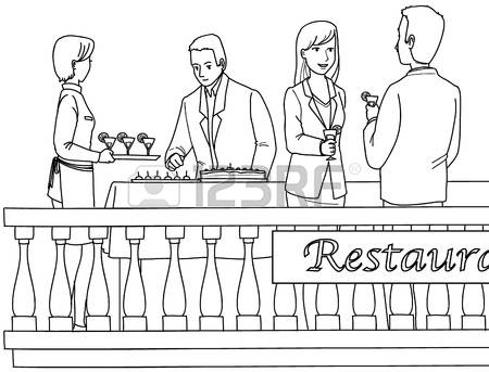 93,896 People Restaurant Stock Vector Illustration And Royalty.