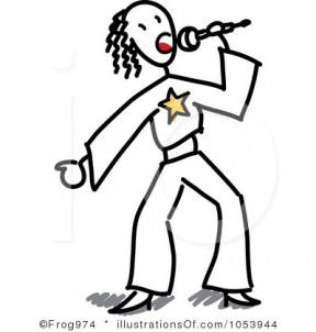 black people singing clipart - Clipground