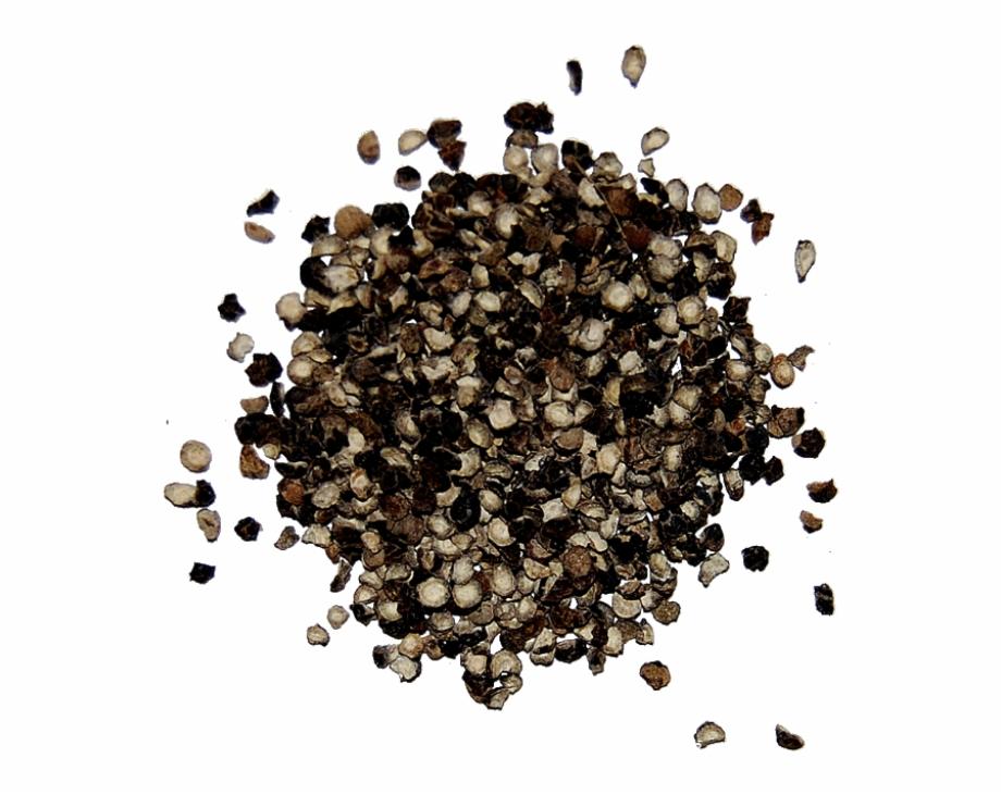 Cracked Black Pepper.