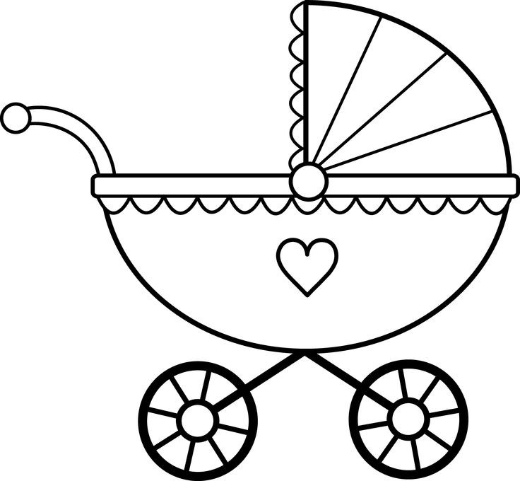Baby Boy Shower Black And White Clipart Clipground