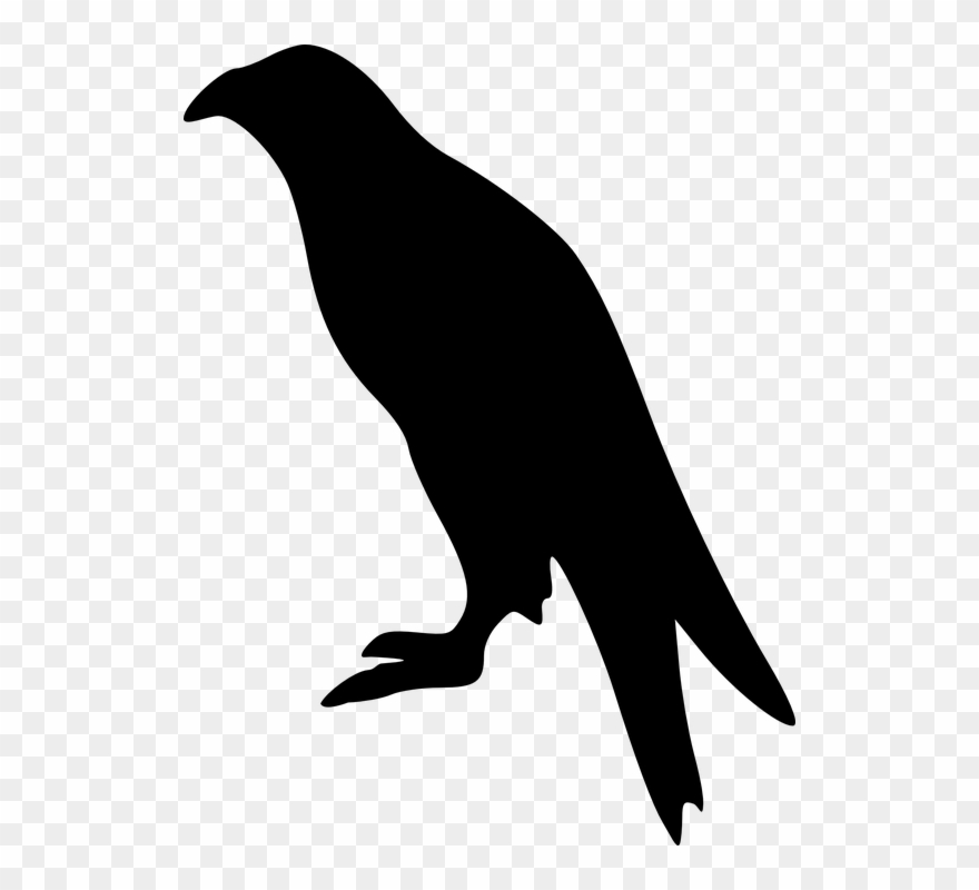 Raven Silhouette Cliparts 23, Buy Clip Art.