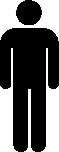 Black Person Symbol Clip Art at Clker.com.