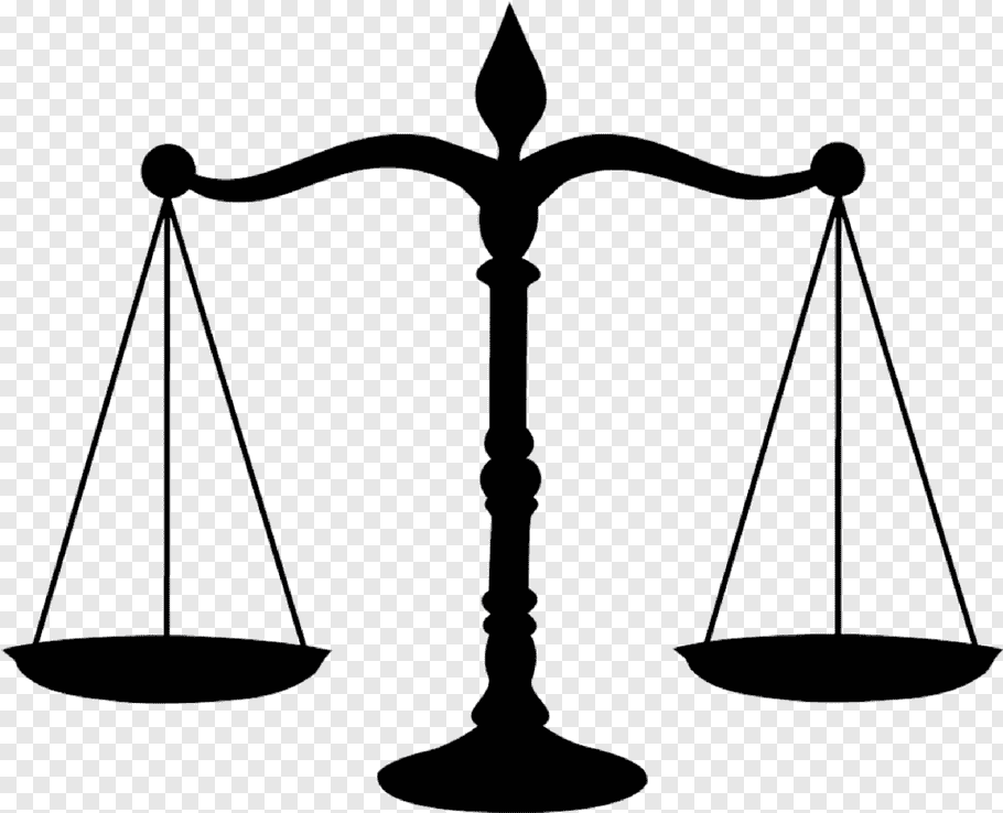Law Black And White, Lawyer, Judge, Measuring Scales.