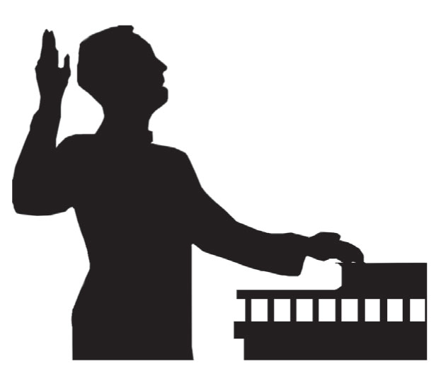 Court Testimony Clipart.