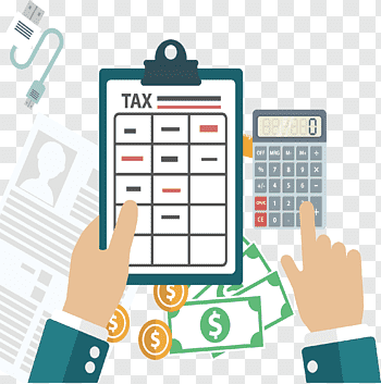 Income Tax Return cutout PNG & clipart images.