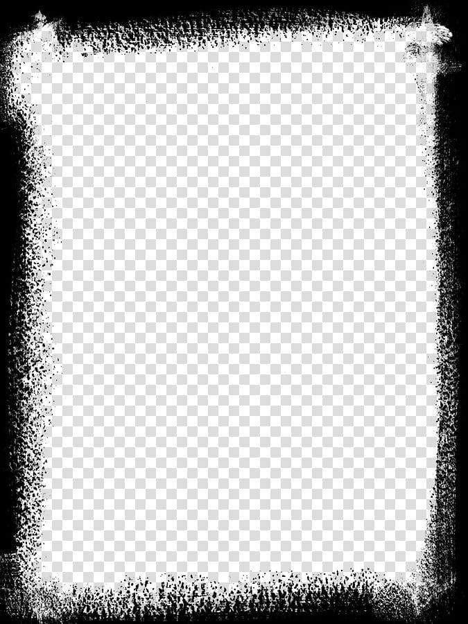 Painted Masks Large, black frame illustration transparent.