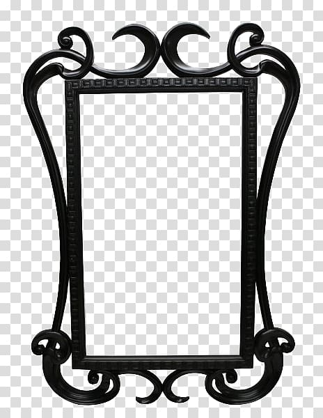 Rectangular black frame, Magic Mirror Frames , Mirror Free.