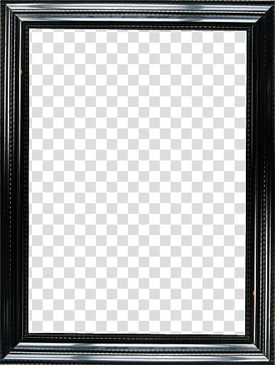 Wood Frame, black wooden frame transparent background PNG clipart.