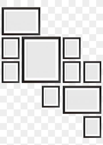 Black Frame PNG Images.