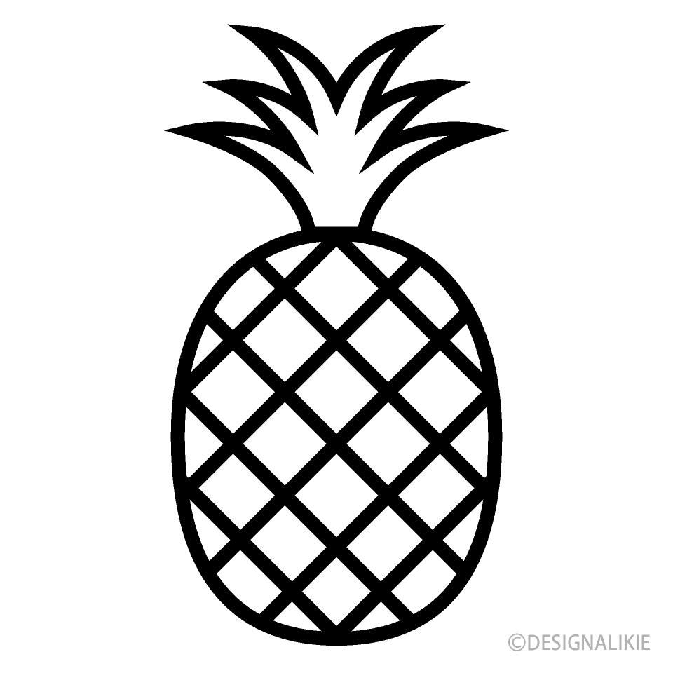 Free Pineapple Icon Image|Illustoon.